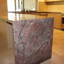 marble and limestone benchtop